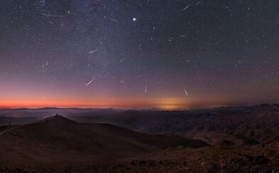 Meteorický roj Geminidy prichádza tesne pred Vianocami. Čakajú nás výborné podmienky na pozorovanie