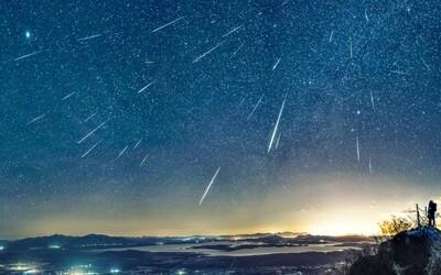 Meteorický roj sa v nasledujúcich dňoch postará o vesmírne divadlo. Čaká nás jasná obloha a fascinujúci pohľad na stovky padajúcich hviezd