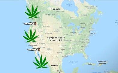 Mexiko chystá legalizaci marihuany. Celé západní pobřeží Ameriky ji bude kouřit beztrestně, když se tak stane