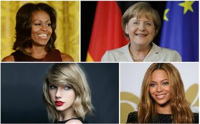 Mezi stovku nejmocnějších žen zeměkoule se dostala i Beyoncé nebo Taylor Swift. Popáté v řadě vede Merkelová