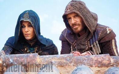 Michael Fassbender sa predstavuje ako assassin na prvej fotke k filmu Assassin's Creed