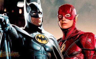 Michael Keaton si údajně znovu zahraje Batmana. Old Man Bruce se objeví v sólovce Flashe