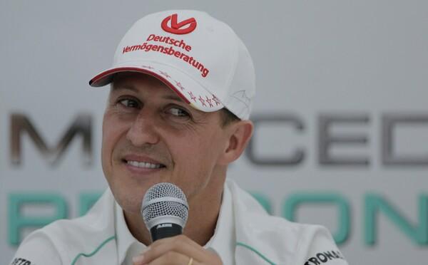 Michael Schumacher je údajně při vědomí. Pomáhat mu má léčba kmenových buněk v Paříži