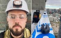 Michal odešel z bratislavského korporátu instalovat okna na mrakodrapech v Kanadě: Tvrdé dřiny si zde váží mnohem více (Rozhovor)