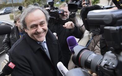Michel Platini byl zatčen kvůli podezření z korupce při udělování MS 2022 Kataru