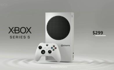 Microsoft oficiálne potvrdil cenu lacnejšieho Xboxu Series S. Príde o podporu 4K hrania, no bude stáť okolo 299 eur