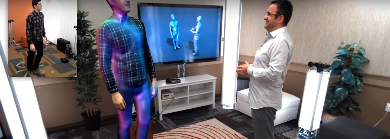 Microsoft posouvá hranice. Jeho VR headset HoloLens zobrazí našeho přítele jako hologram hned vedle nás