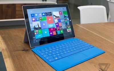 Microsoft představil nový tablet Surface 3, který zaujme nejen svojí nízkou cenou