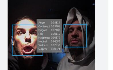 Microsoft uhádne, aké emócie prevládajú na tvojej tvári. Vyskúšať si to môžeš na vlastnej koži!