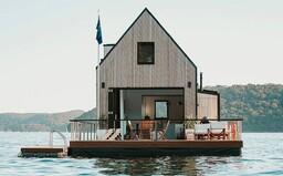 Miesto, kde človek zabudne na všetky starosti. Plávajúca vila na pobreží Austrálie je pastvou pre oči