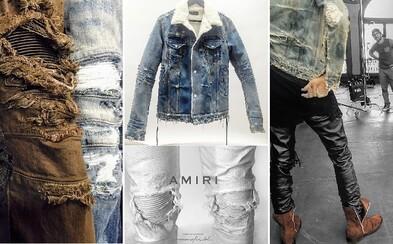 Mike Amiri, majster roztrhaných jeansov, ktorého značku by si mal spoznať čím skôr