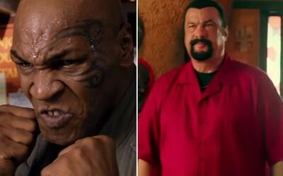 Mike Tyson a Steven Seagal predviedli pravdepodobne najhorší filmový súboj posledných rokov
