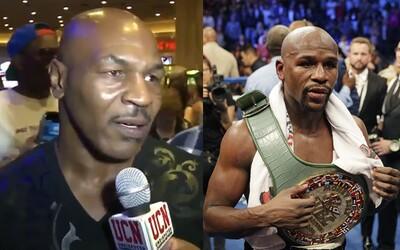 Mike Tyson trefne vysmial Floyda Mayweathera, ktorý vyhlasoval, že je lepší ako Muhammad Ali