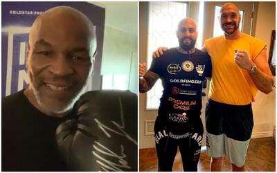 Mike Tyson věnoval českému MMA šampionovi podepsanou rukavici