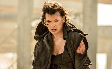 Mila Jovovich kosí zombíkov a monštrá v debutovom traileri pre posledný Resident Evil