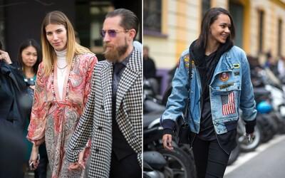 Miláno posiela druhú várku outfitov z ulíc počas Fashion Weeku