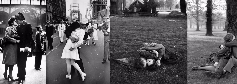Milé fotografie dokazujúce, že vojna je na lásku prikrátka. Nech je akokoľvek tvrdá, nežný cit ju dokáže prežiť