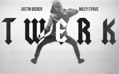 Miley Cyrus a Justin Bieber so songom Twerk