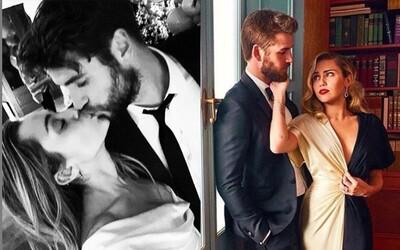 Miley Cyrus a Liam Hemsworth sa zosobášili, svadbu potvrdili roztomilými fotografiami