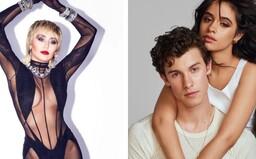 Miley Cyrus chce jít do trojky se Shawnem Mendesem a Camilou Cabello. Líbí se jí, jak zpívají její píseň