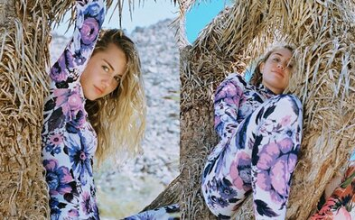 Miley Cyrus ľudia silno skritizovali za najnovšie fotky na Instagrame. Svoju pózu na strome úplne nedomyslela