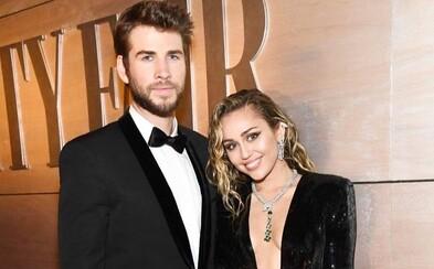 Miley Cyrus se po necelém roce rozvádí s Liamem Hemsworthem