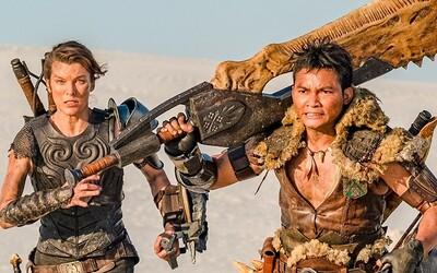 Milla Jovovich vyměnila zombíky za příšery. V akčním Monster Hunter bude lovit gigantická monstra