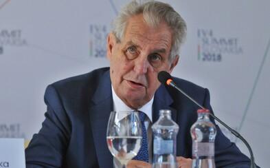Miloš Zeman se nechá proti covidu naočkovat ve druhé polovině ledna