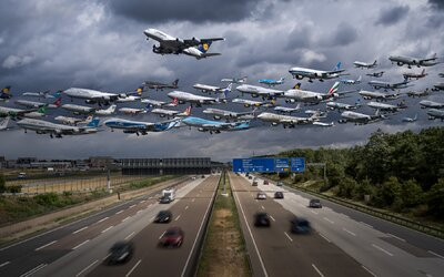 Miluje letadla, a proto se rozhodl vytvořit fascinující záběry jejich vzletů, za což sklidil nemalý úspěch