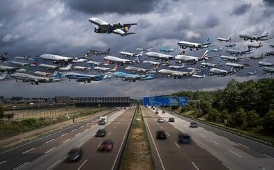 Miluje lietadlá, a preto sa rozhodol vytvoriť fascinujúce zábery ich vzletov, začo zožal nemalý úspech