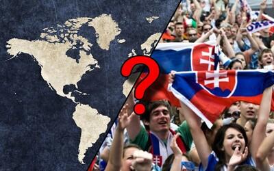 Mimo Slovenska žije vyše 1 000 000 Slovákov. Po akých krajinách sú naši krajania roztrúsení?