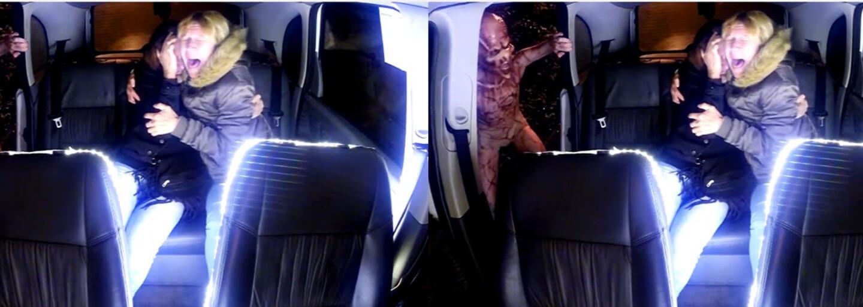 Mimozemská invaze, ze které by ti naskočila husí kůže. Strašidelný žertík lidé v taxíku absolutně nezvládli