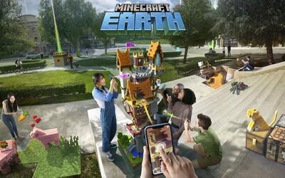 Minecraft Earth na styl Pokémon Go přijde již v říjnu. Budeš moci stavět v reálném světě, nechybí ani souboje