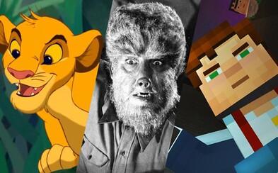 Minecraft, remake Levieho kráľa a Wolf Man našli svojich scenáristov