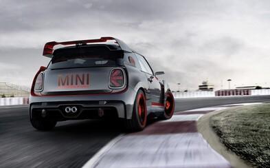 MINI vypúšťa do sveta pekelný koncept, okruhový John Cooper Works GP s masívnym bodykitom