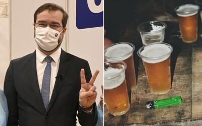 Minister Krajčí reaguje na 40-dňové nepitie alkoholu po vakcíne Sputnik V: Pôst je dobrá vec, budem ho odporúčať
