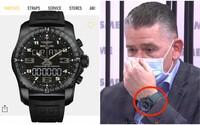Minister Mikulec počas rozhovoru predviedol luxusné hodinky Breitling za tisícky eur. Je to dar od mamy a synov, tvrdí