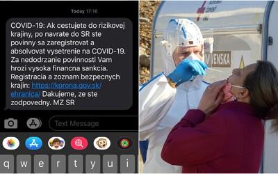 Ministerstvo zdravotníctva opäť posiela varovné SMS-ky. Upozorňuje na vysoké pokuty