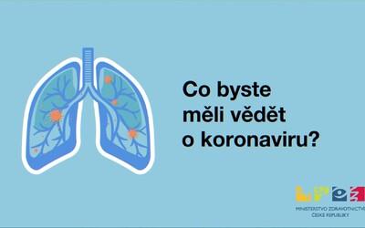 Ministerstvo zdravotnictví vydalo video, jehož obsahem je vše, co bys měl o koronaviru vědět