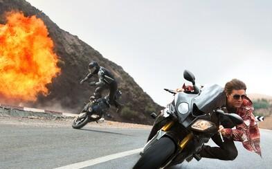 Misson: Impossible 5 tlačí na pílu akčných hraníc v novom traileri