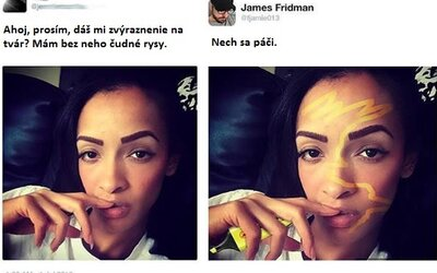 Mistr Photoshopu James si dělá srandu ze zaslaných fotografií. Jeho díla baví na Twitteru tisíce lidí