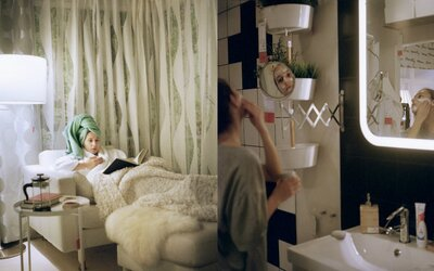 Mladá fotografka bývala 3 týždne v Ikei bez toho, aby si to niekto všimol