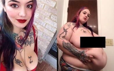 Mladá modelka sa chce stať najťažšou ženou na svete. Už v 26 rokoch váži cez 190 kilogramov