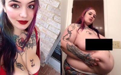 Mladá modelka se chce stát nejtěžší ženou světa. Už v 26 letech váží přes 190 kilogramů
