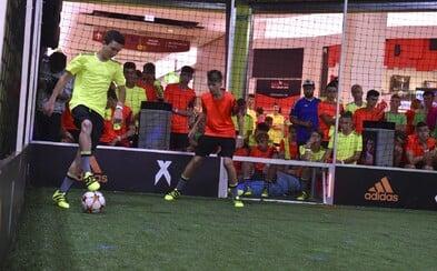 Mladé talenty ovládli futbalový turnaj adidas Tango Challenge
