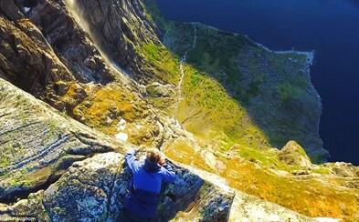 Mladému študentovi sa podarilo vytvoriť prekrásne video o nórskych fjordoch, kde nie je núdza o podarené zábery