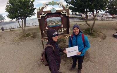 Mladí Slováci pokračujú v ceste za dobrodružstvom po Južnej Amerike. Tentokrát zasielajú snímky z konca sveta