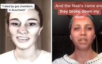 Mladíci na TikToku si hrají na oběti holocaustu. Pobuřující videa čelí ostré kritice především ze strany Židů