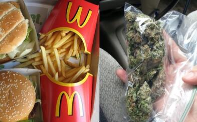 Mladík sa snažil za objednávku v McDonald's zaplatiť marihuanou. Skúšal to hneď dvakrát