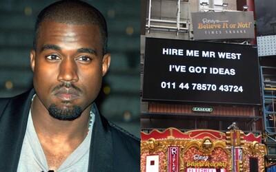 Mladík utratil svoji studentskou půjčku za billboardy, aby ho Kanye West zaměstnal. Harry odvážného plánu nelituje
